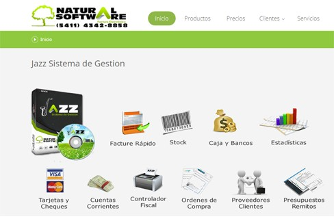 eCommerce integrado con JAZZ Sistema de Gestion integracion
